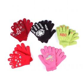 Cute Kids Gloves, Multi-color, Best-selling