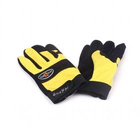 Yellow Sport Gloves,Imitation Pigskin Gloves