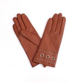 Brown Goatskin Gloves