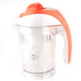 Nice Automatic Orange Plastic Multi-fuctional Soy Milk Maker
