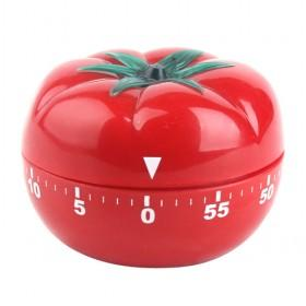 Red Tomato-shaped Kitchen Mechanical Countdown Cooking Stope Alarm For Housewives