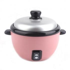 Pink Plastic Rice Cooker Shaped Coin Bank Money Saving Box