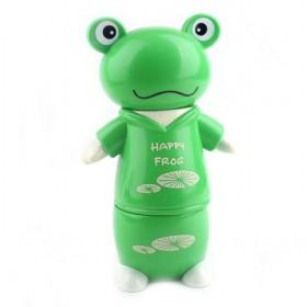 New Small Transparent Frog Cartoon Money Box,Plastic Coin Bank YIWU