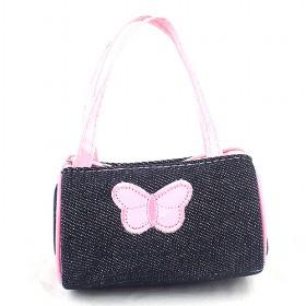 Ladies ' Shoulder Bag Fashion Girl 's Pink Design Small Size