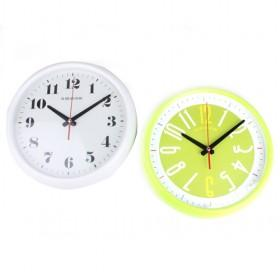 New Arrival Modern Design Home Decoration White And Yellow Ornamental Clocks