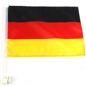 Germany, National Flag, Plastic Base