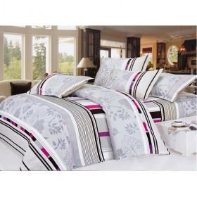 Luxury Stripes And Patterns Printing Decorative Polyester Bedding 4-piece Bedding Sets