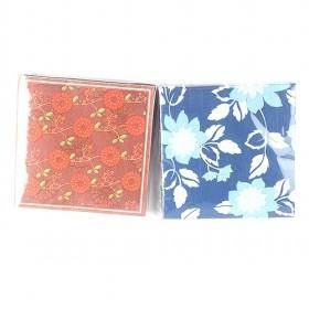 Colorful Graceful China Calligraphy Napkin Paper Serial