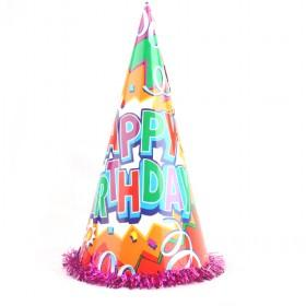 Celebrative Blingbling Good Quality Happy Birthday Party Cone Hat