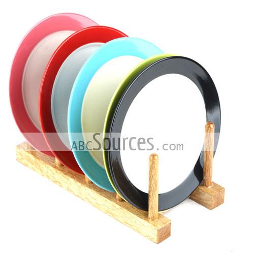 wholesale 20cm Bright Color Ceramic Plate, Dish Plates, Decorative ...