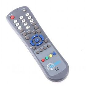 Simple And Typical Dark Grey Universal Remote Controls For DVD