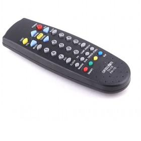 Hot Sale Mini Black Universal Remote Control With Colorful Buttons For TV