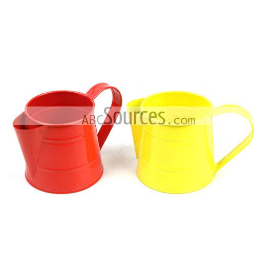 Wholesale Cute Decorative Shinny Color Metal Watering Cans