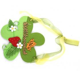 Flower Non Woven Cloth Card