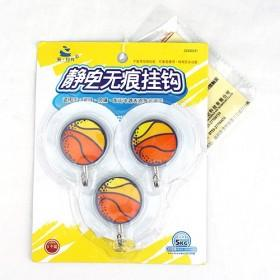 Colorful Creative Design 3 Pack In 1 Basketball Command Small Shape