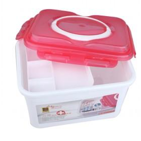 Multifunction Red Cover Medicine Chest