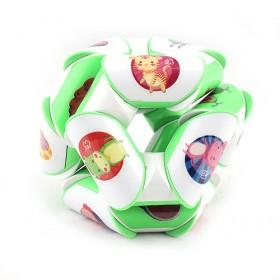Green White Fluctuation Angle Puzzle