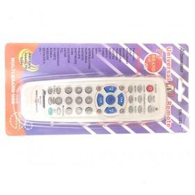Hot Sale TV White Remote Control With Blue Gray Buttons For Multi Brand Use