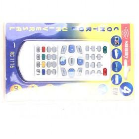 4 In 1 High Quality White Universal Remote Control With 2 Lights Necessary Electric Replacement