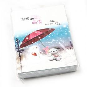 Classical Vintage Winter Diary Book,Hard Cover Notebook,Note Book,Notepad,Note Pad Gift