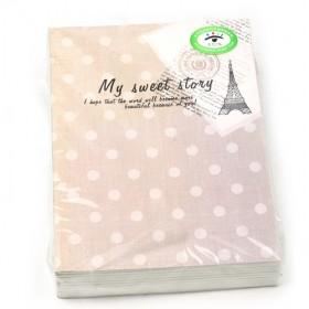 New Fancy Tower 32K Diary Book,Notepad,Memo,Paper Notebook,note Book,Hand Book,fashion Gifts,260*190MM,16K60P