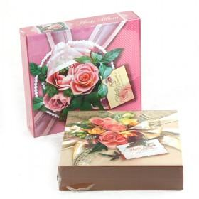 Fashion Originality Personality Rose DIY Paste Kraft Paper Photo Albums