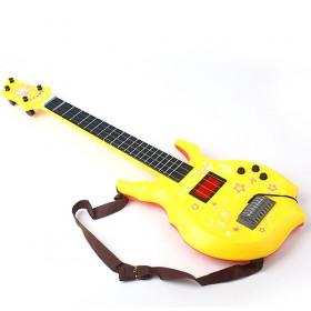 Yellow Small Guitar Toy