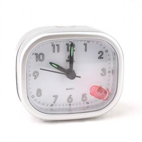 Simple Stylish Modern Design Desktop Mute Alarm Quartz Wall Clock