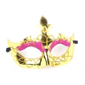Gold Mask, Halloween Mask, Party Mask