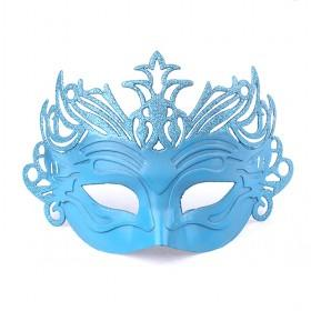 Big Blue Mask, Halloween Mask, Party Mask