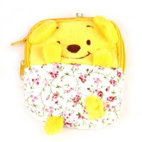 Novelty Item!winni Bag Pencil Case,Cute Pen Bag,soft Plush Bag