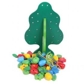 Green Clusters Of Fruit Trees Children Toys