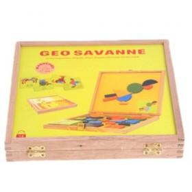 Yellow Magnetic Product Wooden Box For Toddlers