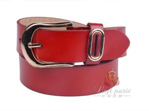 Female Hot Sell Tablet Belt with Pin Buckle