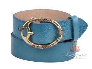 Womens Printing Casual with Roller Buckle Belt