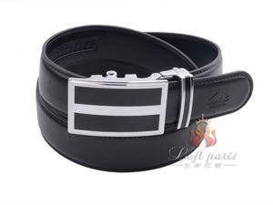 Men Korean version genuine leather automatic buckle belt