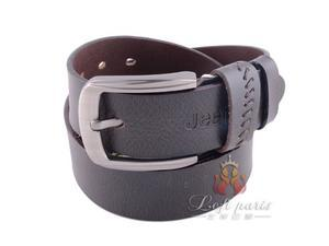 Men fashion leather pin buckle belt