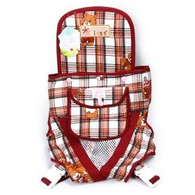 Good Quality Cheap Cartoon Red Plaid Baby Carriers Stroller