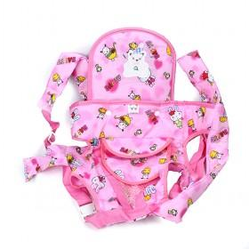 Lovely Pink With Cartoon Prints Decorative Octopus Baby Carriers