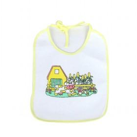Multi Color 100% Cotton Baby Bibs Set