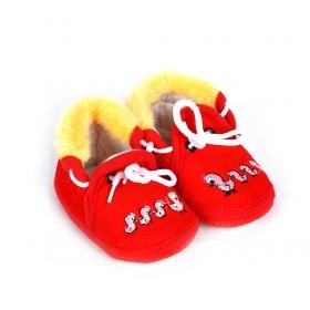 Red Fashion Baby Shoes