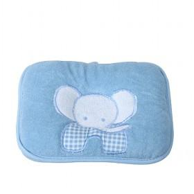 Cute Soft Peach-sink Blue Elephant Baby Pillow