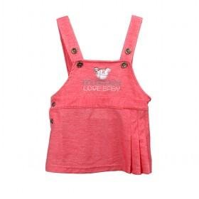 Light Pink Cotton Children Vest