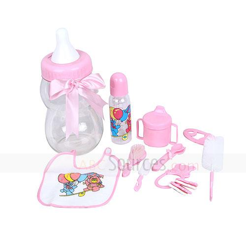 Folks,bib,bell etc 8 pcs feeding set