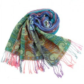 Fashion Colorful Floral Scarf, Womens Scarf,wholesale Scarf