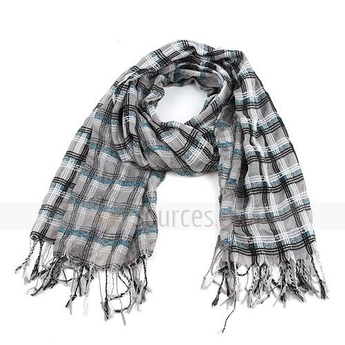 Fashion plaid scarf