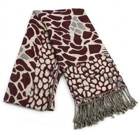 Fashion Red Cotton Leopard Scarf ,womens Scarf,wholesale Scarf