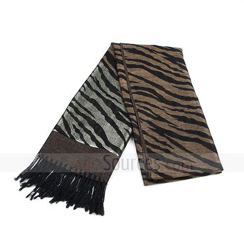 fashion tiger strips scarf
