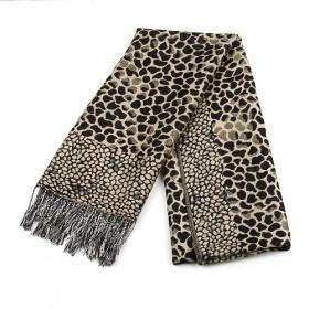 Fashion Yellow Cotton Leopard Scarf ,womens Scarf,wholesale Scarf