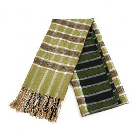 Green Plaid Scarf,fashion Scarf,womens Scarf,wholesale Scarf